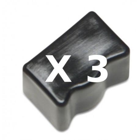 3 Ink Sticks Compatibili Nero Per Xerox 108R00726