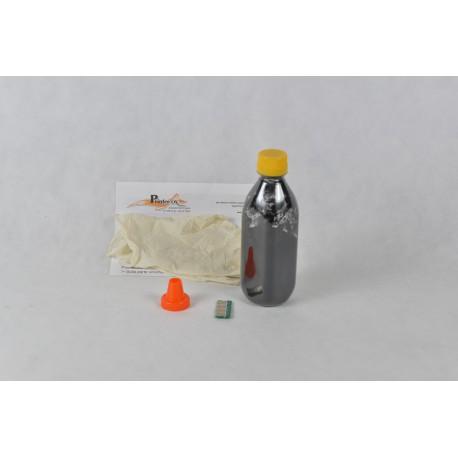 Kit Ricarica Toner Nero Con Chip Per Cartuccia OKI 52124004