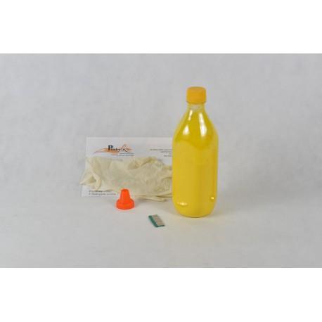 Kit Ricarica Toner Giallo Con Chip Per Cartuccia OKI 52124001