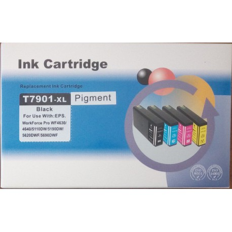 Cartuccia Compatibile Nera Con Chip Per Epson T7901