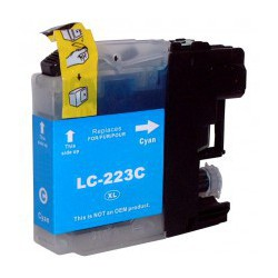 Cartuccia Compatibile Ciano Per Brother LC223C