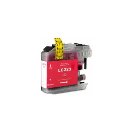 Cartuccia Compatibile Magenta Per Brother LC223M
