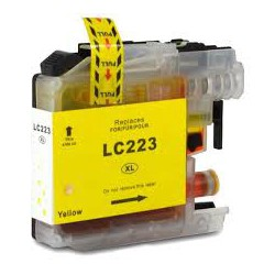 Cartuccia Compatibile Gialla Per Brother LC223Y