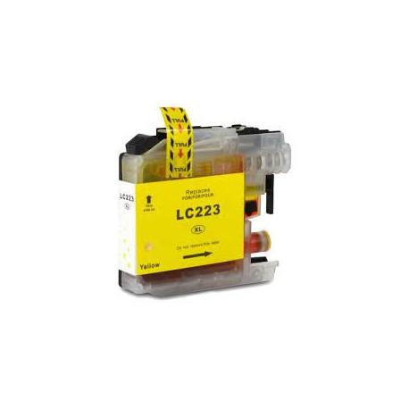 Cartuccia Compatibile Gialla Per Brother LC223Y
