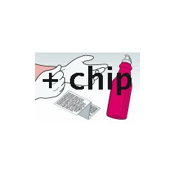 Kit Ricarica Toner Magenta Per Cartucce Hp CE413A