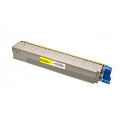 Toner Giallo Compatibile Per Oki 44643001