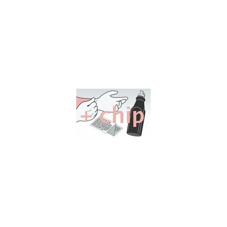 Kit Ricarica Toner Nero Per Cartucce Samsung CLP-K350A-ELS