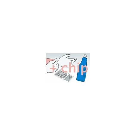 Kit Ricarica Toner Ciano Per Cartucce Samsung CLP-C350A-ELS