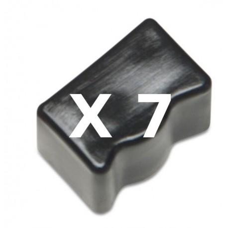 7 Ink Sticks Compatibili Nero Per Xerox 108R00668