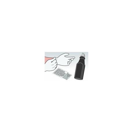 Kit Ricarica Toner Nero Per Cartucce Samsung CLP-500D7K
