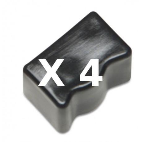 4 Ink Sticks Compatibili Nero Per Xerox 108R00668