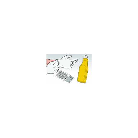 Kit Ricarica Toner Giallo Per Cartucce Samsung CLP-500D5Y