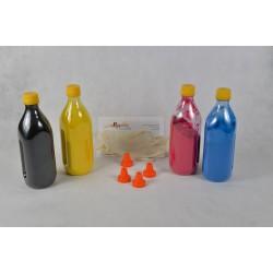 Kit Ricarica Toner Per Cartucce Rainbow Glossy Xerox 106R01080 106R01077 106R01078 106R01079