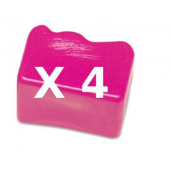 4 Ink Sticks Compatibili Magenta Per Xerox 108R00670