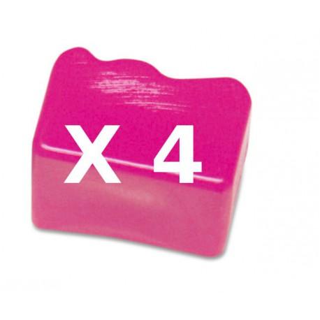 4 Ink Sticks Compatibili Magenta Per Xerox 108R00670