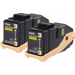 Toner Giallo Compatibile Per Epson C13S050606