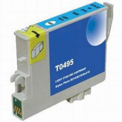 Cartuccia Compatibile Light Ciano Per Epson T0495