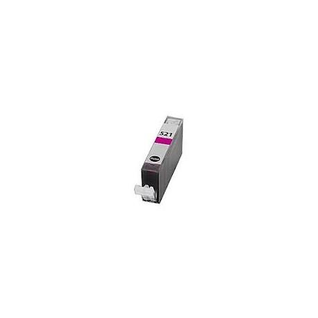 Cartuccia Compatibile Magenta Per Canon CLI521M