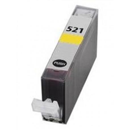 Cartuccia Compatibile Gialla Per Canon CLI521Y