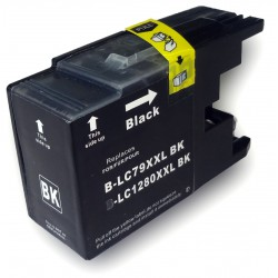 Cartuccia Compatibile Nera XL Per Brother LC1280
