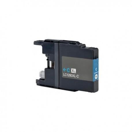 Cartuccia Compatibile Ciano XL Per Brother LC1280
