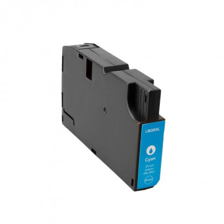 Cartuccia Compatibile Ciano Con Chip Per Lexmark 14L0198 (200 XLA)