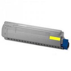 Toner Giallo Compatibile Per Oki 44844505
