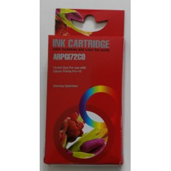 Cartuccia Compatibile Trasparente Con Chip Per Canon PGI-72co
