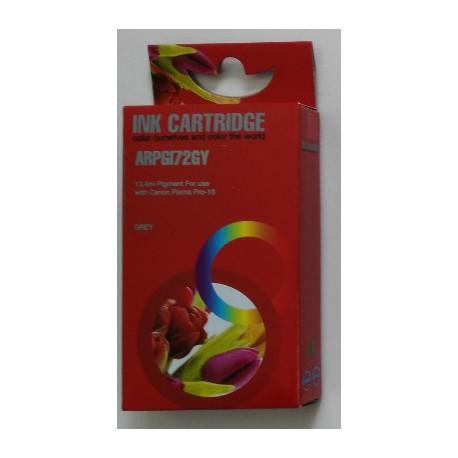 Cartuccia Compatibile Grigio Con Chip Per Canon PGI-72gy