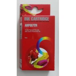 Cartuccia Compatibile Rosso Con Chip Per Canon PGI-72r
