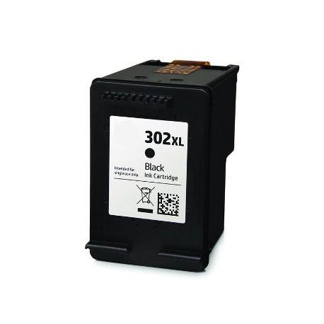 Cartuccia Nera Rigenerata HP 302 XL (F6U68AE)