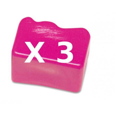 3 Ink Sticks Compatibili Magenta Per Xerox 108R00606