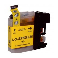 Cartuccia Compatibile Gialla Per Brother LC225