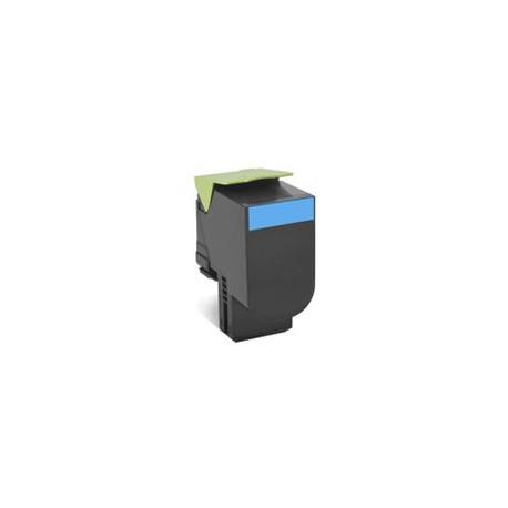Toner Ciano Compatibile Per Lexmark 80C2SC0