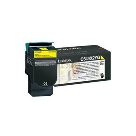 Toner Giallo Compatibile Per Lexmark C544X2YG