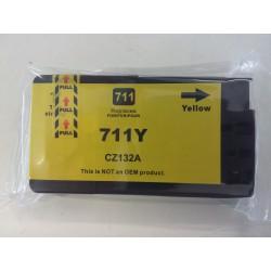 Cartuccia Compatibile Giallo Pigmentato Per HP 711 (CZ132A)