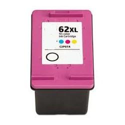 Cartuccia Tricolor Rigenerata HP 62 XL (C2P07AE)