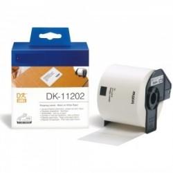 DK 11202 Rotolo Etichette 62mmX100mm 300psc Bianco