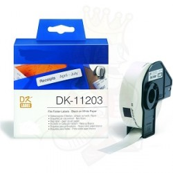 DK 11203 Rotolo Etichette 17mmX87mm 300psc Bianco