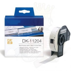 DK 11204 Rotolo Etichette 17mmX54mm 400psc Bianco