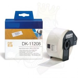 DK 11208 Rotolo Etichette 38mmX90mm 400psc Bianco