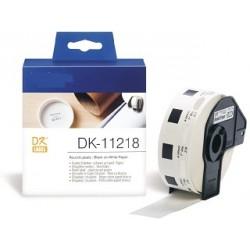DK 11218 Rotolo Etichette 24mm 1000psc Bianco