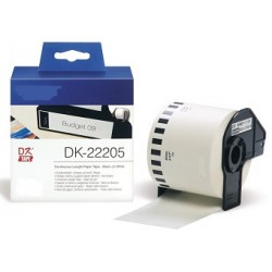DK 22205 Rotolo Etichette 62mmX30.48m 1000psc Bianco