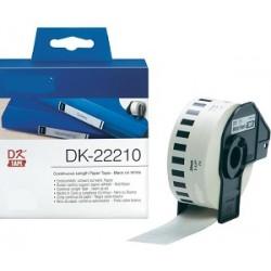 DK 22210 Rotolo Etichette 29mmX30.48m Bianco