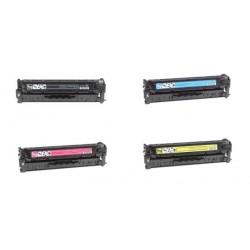 Multipack Toner Compatibili Per Hp CC530A-CC531A-CC532A-CC533A