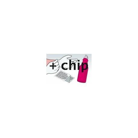 Kit Ricarica Toner Magenta Per Cartucce Hp CF033A