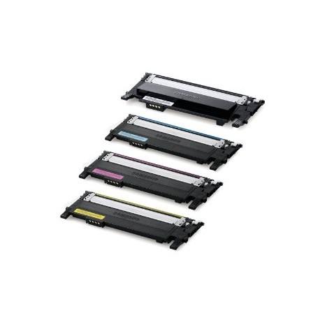 Multipack Toner Compatibili Per Samsung CLT-K406S CLT-C406S CLT-M406S CLT-Y406S