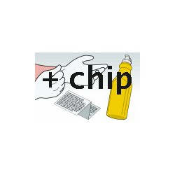 Kit Ricarica Toner Giallo Per Cartucce Hp CE262A