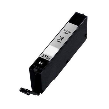 Cartuccia Compatibile Nera Dye Per Canon CLI-571BK XL