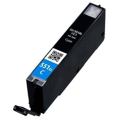 Cartuccia Compatibile Ciano Per Canon CLI551C